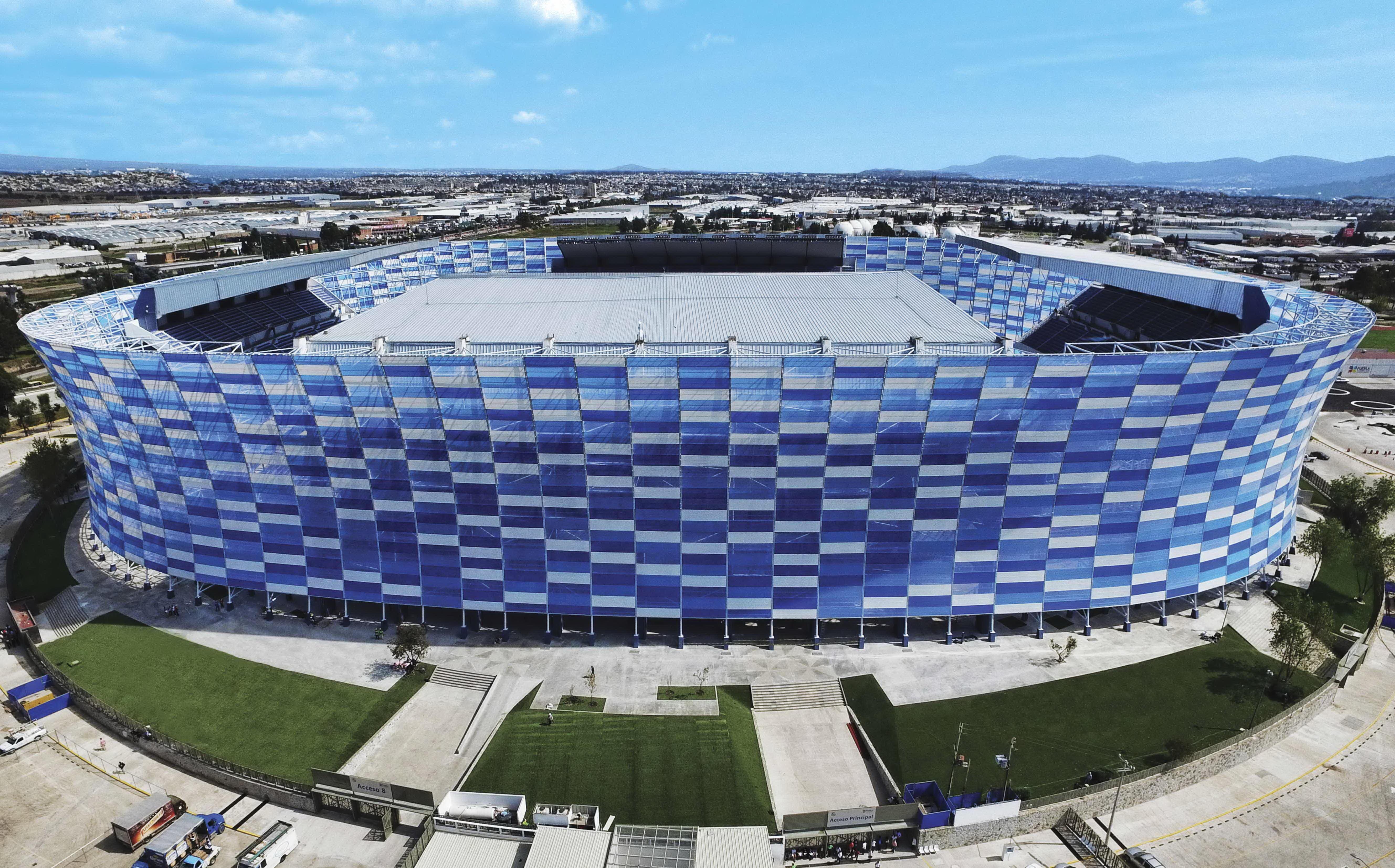 стадион Cuauhtémoc