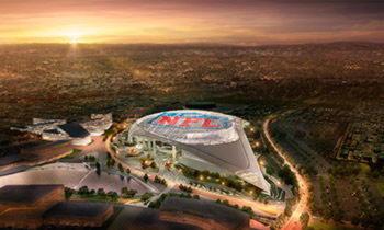 Пленка ETFE для крыш стадионов