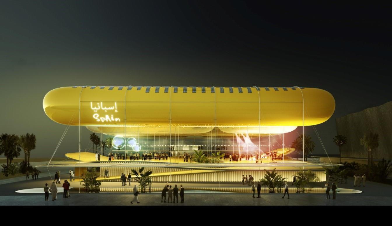 EXPO 2020 Павильон Испании