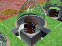 Купола из фторопласта ETFE