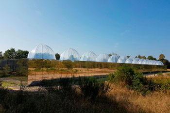 Купол из пленки ETFE для экологических и климатических исследований