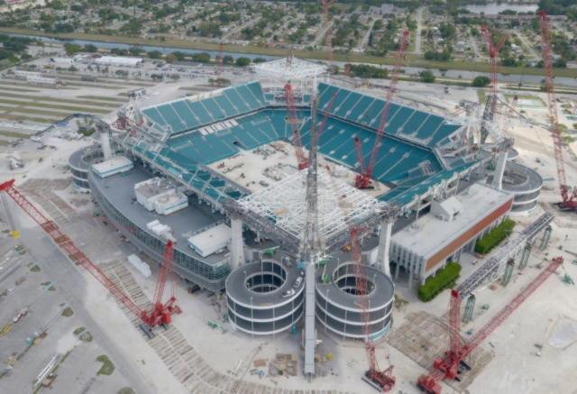 ETFE  для стадиона в Майами