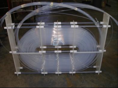 Теплообменник из термопластичных фторопластов