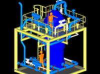 Система ультрафильтрации с мембранами PVDF
