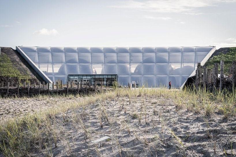 thøgersen & stouby + SLA создают «мультивселенную природу» на датском побережье