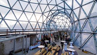 ETFE оболочка для купола