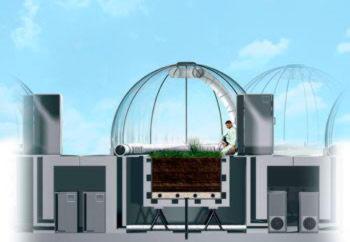 Купол мембрана ETFE
