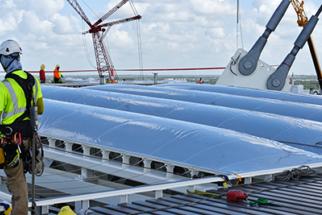 Чаша стадиона из ETFE
