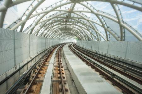 Тоннель из ETFE пленки в Куала-Лумпуре