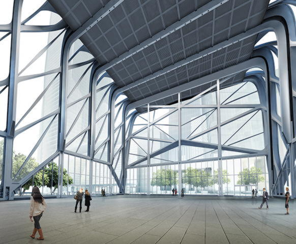 Крыша из ETFE